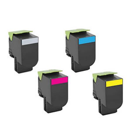 Compatible Multipack Lexmark 01H BK/C/M/Y Full Set Toner Cartridges