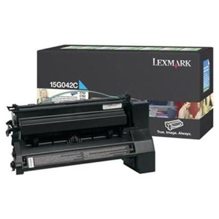 Lexmark 15G042C Original Return-Program Cyan High Yield Toner Cartridge