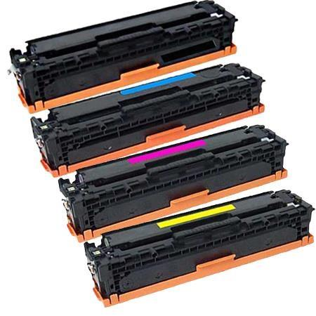 Clickinks 410X Full Set Remanufactured Toner Cartridges