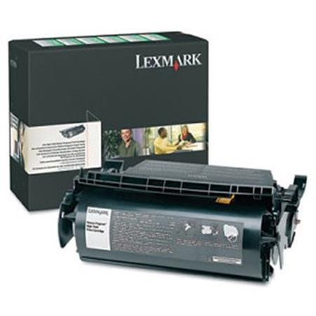 Lexmark 12A9684 Original Black High Yield Return Program Cartridge