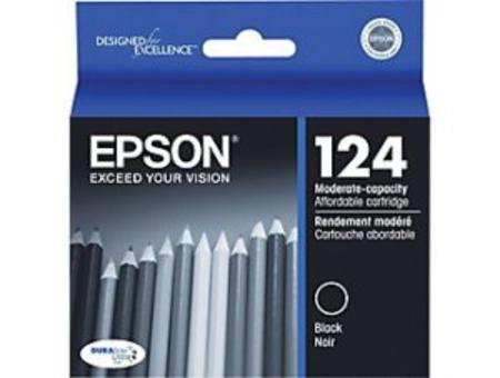 Epson 124 Black Original Moderate Capacity Ink Cartridge