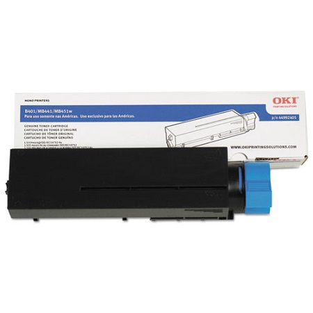 OKI 44992405 Black Original Toner Cartridge