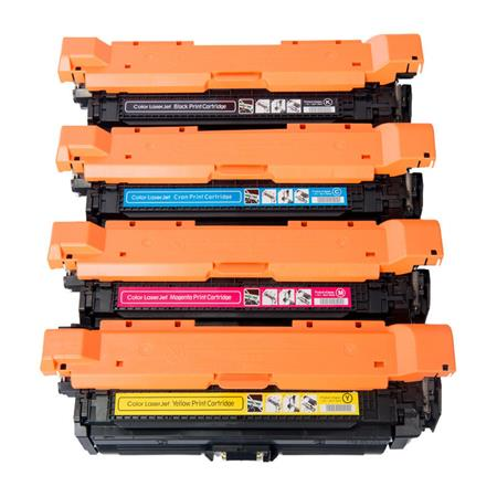 Clickinks 647A/648A Full Set Remanufactured Toner Cartridges