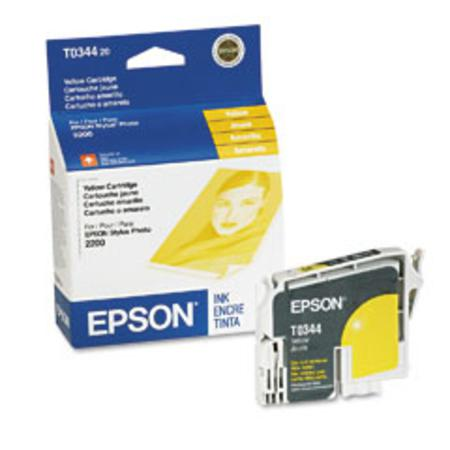 Epson T0344 (T034420) Original Yellow Ink Cartridge
