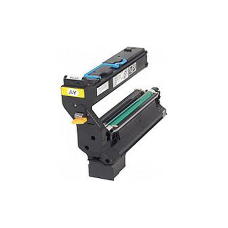 Compatible Yellow Konica Minolta 1710580-002 Toner Cartridge