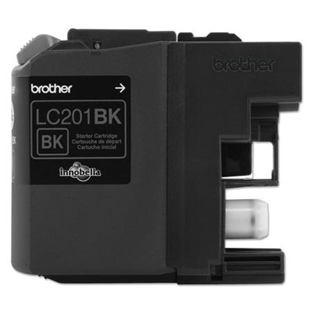 Brother LC201BK Black Original Standard Capacity Ink Cartridges