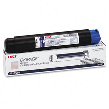 OKI 52107201 Original Black Toner Cartridge