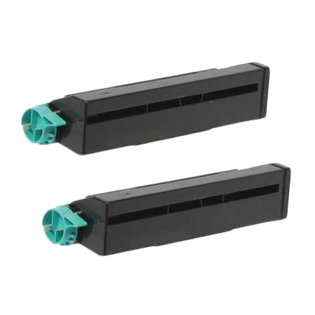 Compatible Twin Pack Black Okidata42102901 Toner Cartridges