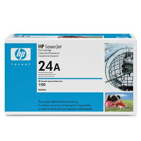 HP LaserJet 24A (Q2624A) Black Original Standard Capacity Print Cartridge with Ultraprecise Technology