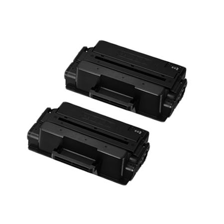 Compatible Twin Pack Black Samsung MLT-D201S Toner Cartridges