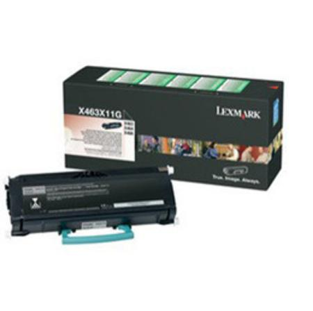 Lexmark X463X11G Black Original Extra High Yield Return Program Toner Cartridge