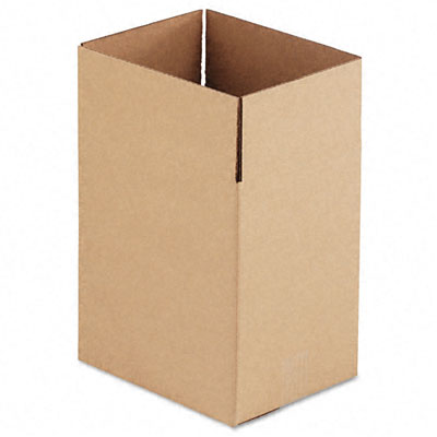 Corrugated Kraft Fixed-Depth Shipping Carton8-3/4 x 11-1/4 x 12hBR25/Bundle