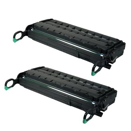 430452 Black Remanufactured Toner Cartridge Twin Pack