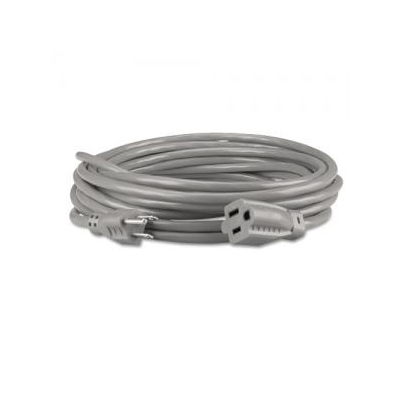 Innovera Indoor Heavy-Duty Extension Cord 15 Feet Gray