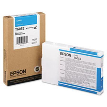 Epson T6052 (T605200) Original Cyan Ink Cartridge