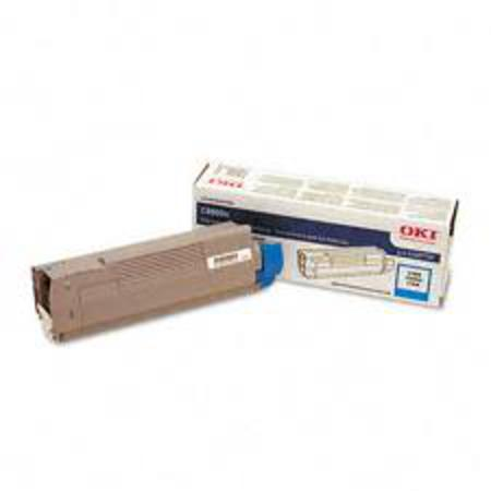 OKI 43487735 Cyan Original Toner Cartridge