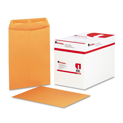 Universal Catalog Envelope Side Seam 9 x 12 Light Brown 250/box