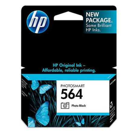 HP 564 Photo Black Original Inkjet Cartridge