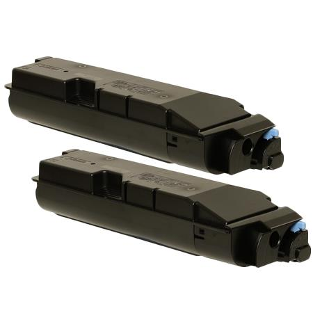 TK-6307 Black Remanufactured Toners Twin Pack