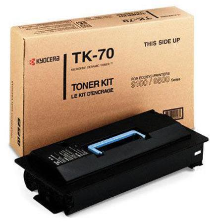 Kyocera TK-70H Original Black High Capacity Laser Toner Cartridge