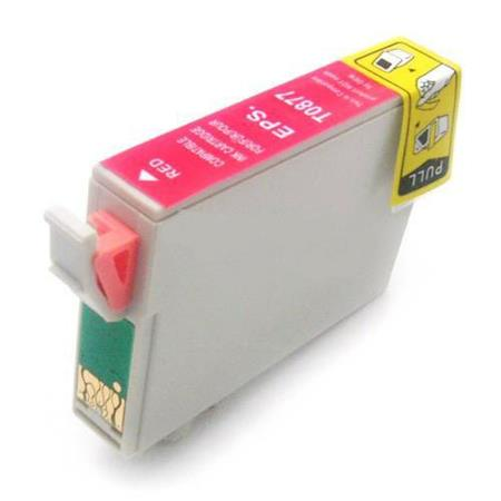 Epson T0877 (T087720) Red Remanufactured Cartridge