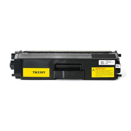 Brother TN339Y Yellow Remanufactured Extra High Capacity Toner Cartridge