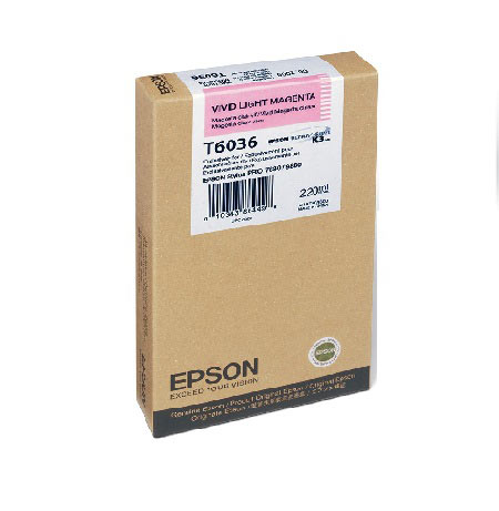 Epson T6036 (T603600) Original Vivid Light Magenta Ink Cartridge