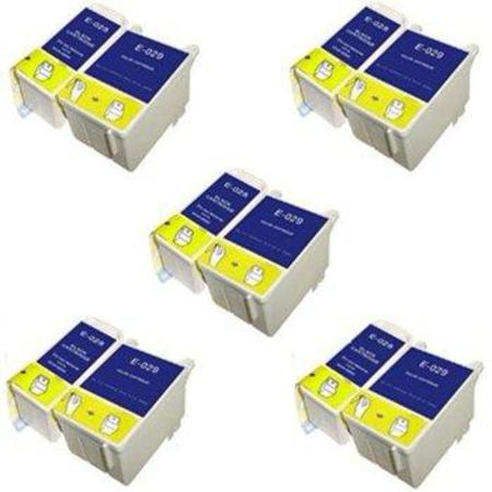 Compatible Multipack Epson T028/T029 5 Full Sets Ink Cartridges