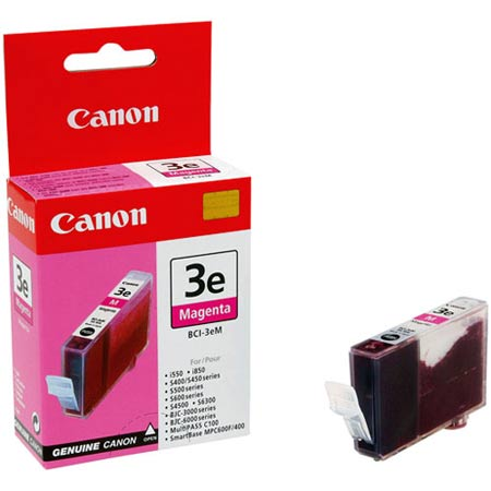 Canon BCI-3eM Original Magenta Ink Cartridge