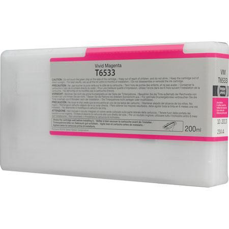 Epson T653300 (T6533) Remanufactured Vivid Magenta Ink Cartridge