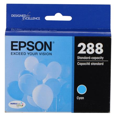 Epson 288 (T288220) Cyan Original Standard Capacity Ink Cartridge