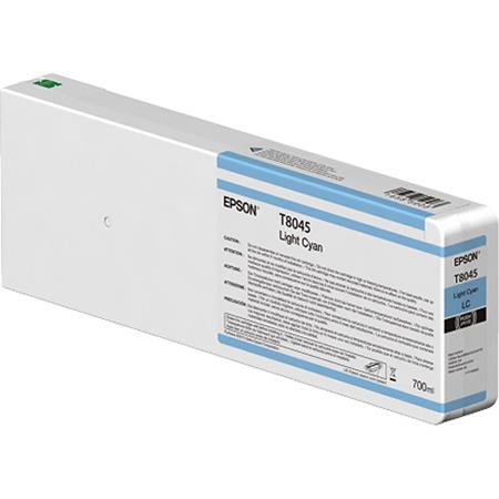 Epson T8045 (T804500) Light Cyan Original UltraChrome HD Ink Cartridge (750 ml)
