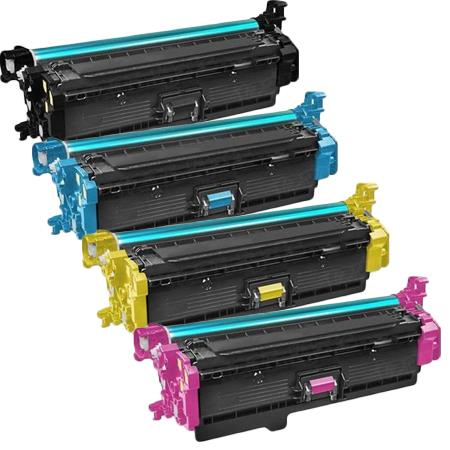 Clickinks 508X Full Set Remanufactured High Capacity Toner Cartridges