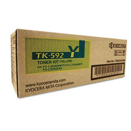 Kyocera-Mita TK-592Y Yellow Original Toner Cartridge