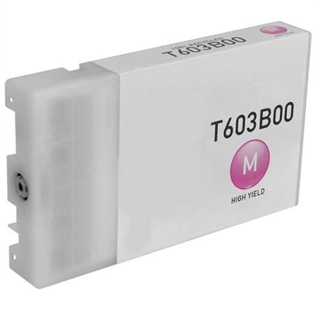 Epson T603B00 (T603B) Magenta Remanufactured Ink Cartridge