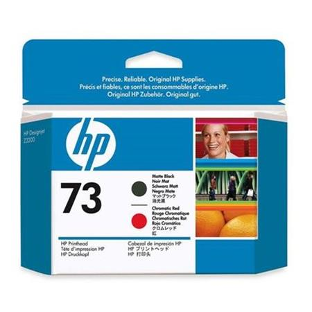HP 73 (CD949A) Matte Black And Chromatic-Red Original Printhead