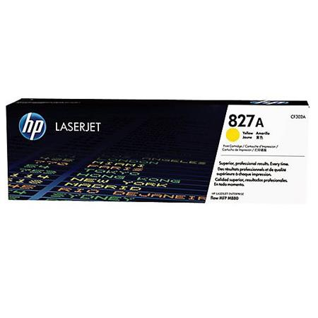 HP 827A Yellow Original Toner Cartridge (CF302A)