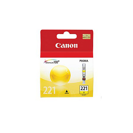 Canon CLI-221Y Yellow Original Cartridge