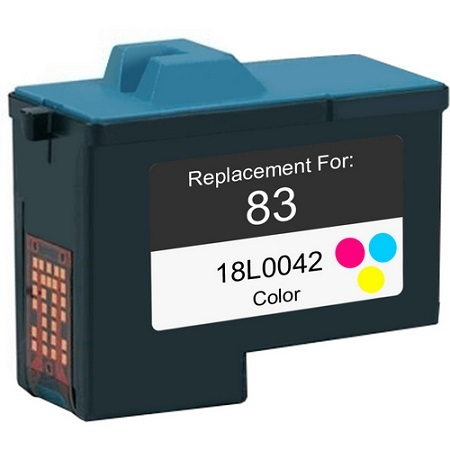 Lexmark No. 83 (18L0042) Color Remanufactured Print Cartridge