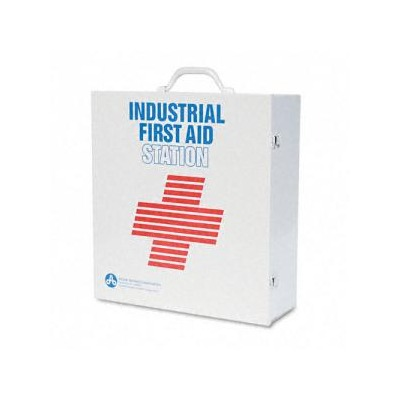 Acme United First Aid Kit for 50 People 740 Pieces OSHA/ANSI Metal Case