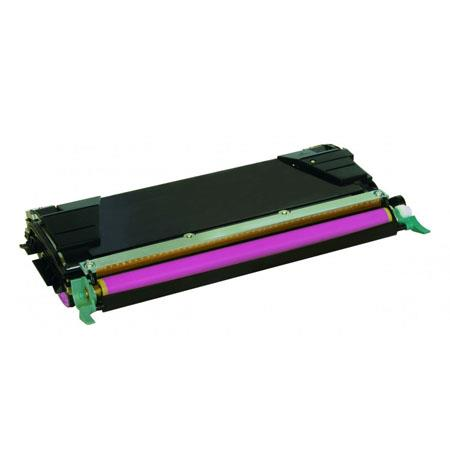 Compatible Magenta Lexmark C5242MH High Yield Toner Cartridge