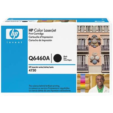HP Color LaserJet Q6460A Original Black Toner Cartridge