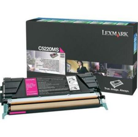 Lexmark C5220MS Original Magenta Return Program Toner Cartridge