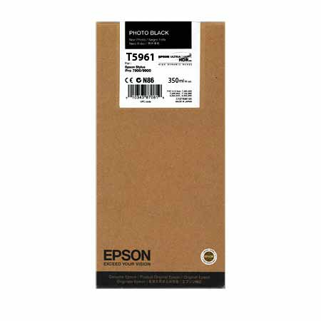 Epson T5961 Photo Black Original Ink Cartridge