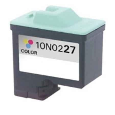 Lexmark No. 27 (10N0227) Moderate Use Color Remanufactured Ink Cartridge