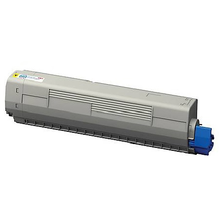 OKI 44844509 Yellow Remanufactured Toner Cartridge