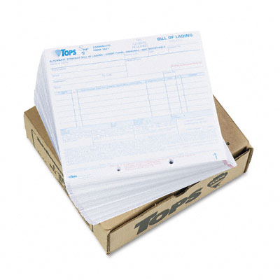 TOPS Hazardous Material Short Form  8-1/2 x 7  Three-Part Carbonless  250 Forms