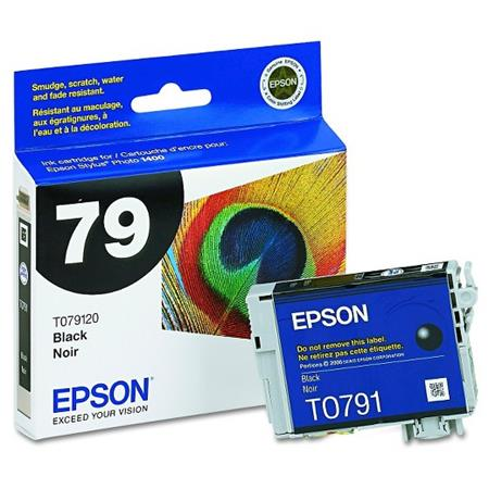 Epson T0791 (T079120) Black Original Ink Cartridge
