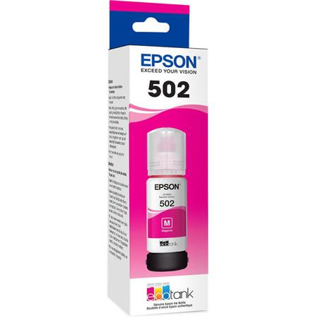 Epson T502 (T502320) Magenta Original Ink Bottle