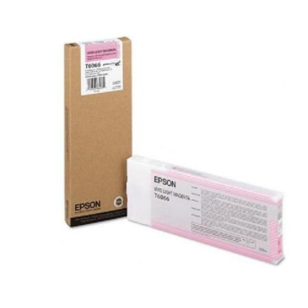 Epson T6066 Original Light Magenta Ink Cartridge